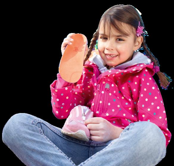 Wkładki ortopedyczne wykonywane indywidualnie.